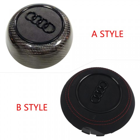 Free Shipping Carbon Fiber Airbag cover Replacement Parts For AUDI