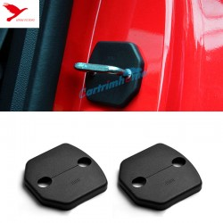 Free Shipping Door Lock Protector Cover buckle decoration 2pcs For Ford Mustang 2015-2019