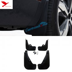Free Shipping Splash Guards Mud Flaps Mud Guards 4pcs For Peugeot 3008 Access / Active / Allure / GT 2016 2017 2018