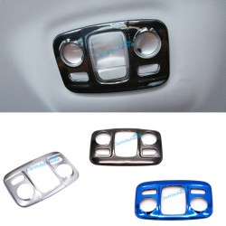 Free Shipping Stainless Rear Reading Light Lamp Cover Trim 1pcs For Peugeot 3008 Access / Active / Allure / GT 2016 2017 2018