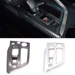 ABS Interior Gear Shift Box Panel Cover Trim For Peugeot 3008 Access / Active / Allure / GT 2016-2019
