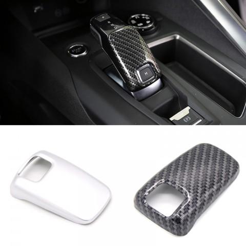 Gear Shift Knob Cover Car Interior Decoration 1pcs For Peugeot 3008 Access / Active / Allure / GT 2016-2019