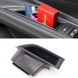Free Shipping Interior Front Side Door Storage Box Holder 2pcs For Peugeot 5008 2017 2018