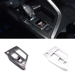 Low-Equipped!ABS Interior Gear Shift Box Panel Cover Trim For Peugeot 3008 Access / Active / Allure / GT 2016-2019
