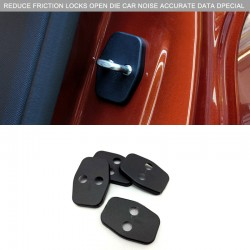 Accessories Interior Door Lock Protective Cover Trim for Peugeot 5008 2017 2018
