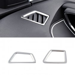 Accessories Stainless Front Air Vent Outlet Cover Trim for Peugeot 5008 2017 2018