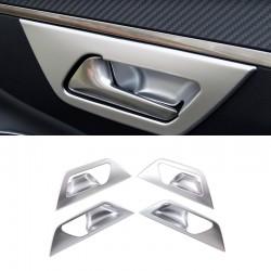 ABS Plastic Accessories Interior Inner Door Handle Bowl  for Peugeot 5008 2017 2018