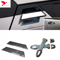 Free shipping ABS Chrome Front + Rear Door Handle Cover Trim 6pcs For Toyota C-HR CHR 2016-2019