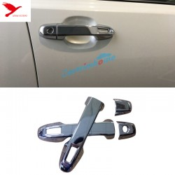 Free Shipping ABS Chrome Front Side Door Handle Cover Trim 4pcs For Toyota C-HR CHR 2016-2019