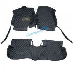 LHD / RHD Front + Rear 3pcs Leather floor mats For Toyota C-HR CHR 2016-2019