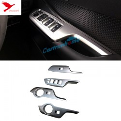 Free shipping Right Hand Drive! ABS Matt Interior Door Cover Armrest Trim 4pcs For Toyota C-HR CHR 2016-2019