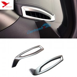 Free shipping Left Hand Drive! Front Air Condition Vent Cover Trim 2pcs For Toyota C-HR CHR 2016-2019