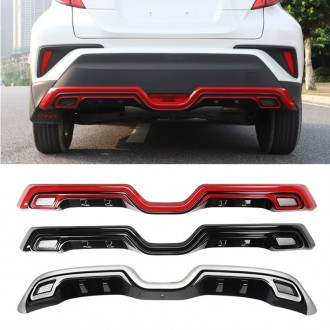 1pcs Rear Bumper Skid Plate Protector Guard For Toyota C-HR CHR 2016-2019