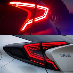 Plug and play Tail Lights Led Tail Lights Rear Lamp 2pcs For Toyota C-HR CHR 2016-2019