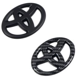 Free shipping Car Steering Wheel Emblem Overlay for Toyota 4runner Tacoma Tundra Corolla Camry Rav4 CHR