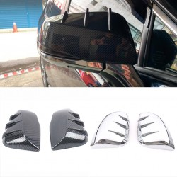 Free Shipping Side Door Mirror Cover Trim 2pcs For Toyota Tacoma 2016-2019