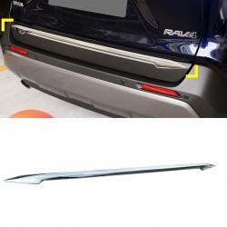 ABS Chrome Rear Tailgate Trunk Lid Cover Trim For Toyota RAV4 2019 2020 2021
