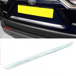 ABS Rear Door Trunk Lid Decoration Trim Cover For Toyota RAV4 2019 2020 2021