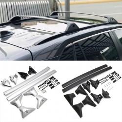 Free Shipping Cross Bar Roof Baggage Luggage Rack Rail Side Bar Set For Toyota RAV4 2019 2020 2021