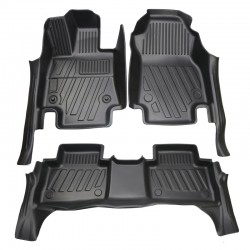 Not suitable for hybrid!!!Free Shipping LHD New Rubber Interior Car Floor Mat Pad 1set For Toyota RAV4 2019 2020 2021