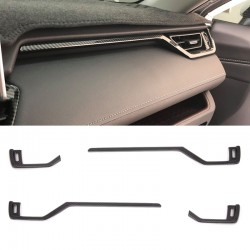 Free Shipping Carbon Style Front Side Air Condition Vent Cover Trim For Toyota RAV4 2019 2020 2021