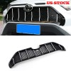 Ship to US and Europe only!!!Free Shipping Maserati Style Front Bumper Grille Cover Trim For Toyota RAV4 2019 2020 2021 Suitable without radar sensor