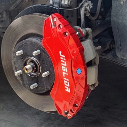 Free Shipping Red Style Front & Rear Brake Disc Caliper Covers 4pcs For Toyota RAV4 2019 2020 2021(18-19 inch wheels)