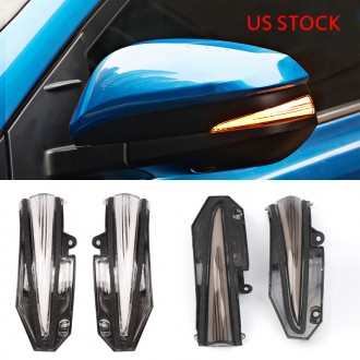 LED Side Mirror Sequential Dynamic Turn Signal Light For TOYOTA 4Runner 2014-2021(Not suitable for without OEM turn signal)