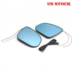 Free Shipping With LED Turn Signal Side Heated Mirror Glass Replacement For Toyota TACOMA 2016-2020