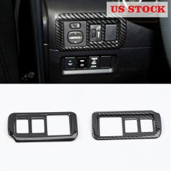 Free shipping LHD Head Light Switch Button Cover Trim For Toyota 4Runner 2010-2021