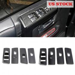 Free shipping LHD Inner Door Armrest Window Lift Cover Trim 4pcs For Toyota 4Runner 2010-2021