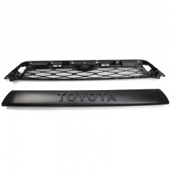 Not suitable for 2020!!!Free shipping For 2014-2019 Toyota 4Runner 2Piece Front Bumper Grille Replacement PZ327-35053 & PZ323-35056