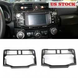 Free shipping Interior Console Navigation Cover Trim 1pcs For Toyota 4Runner 2014-2019