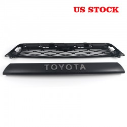 Not suitable for limited!!!Free Shipping 2Piece Front Bumper Grille Replacement For Toyota 4Runner 2020 2021