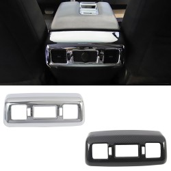 Free Shipping Carbon Style A/C Air Vent Cover Trim Frame for Toyota Tundra Crewmax, Double Cab 2014-2021