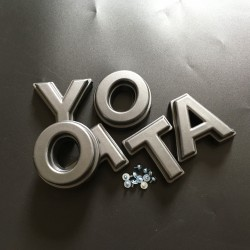 Free Shipping Front Bumper Grille TOYOTA Emblem Logo Nameplate For Toyota Tacoma 16-20